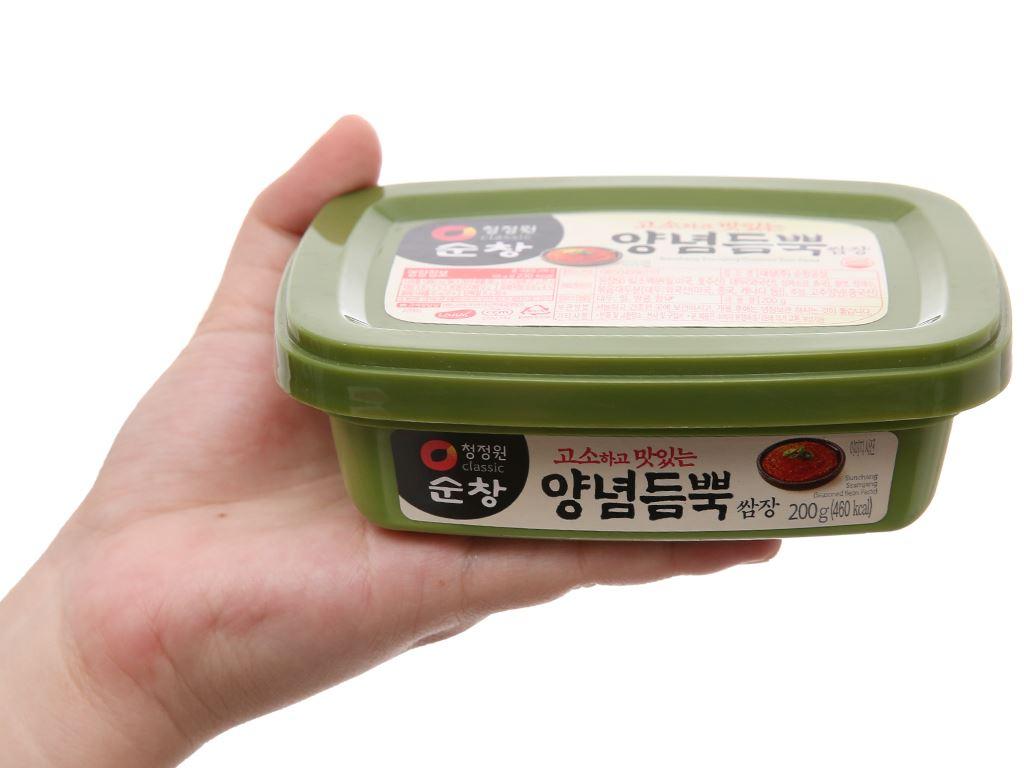 Tương đậu Hàn Quốc Chung Jung One hộp 200g 3