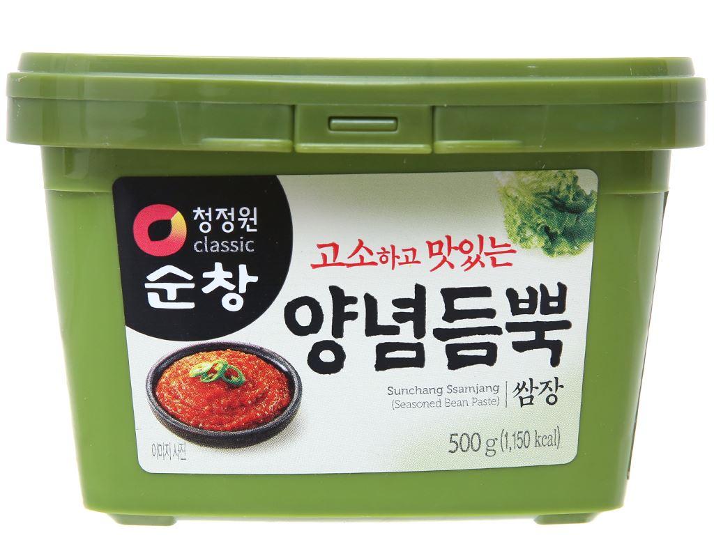 Tương đậu Hàn Quốc Chung Jung One hộp 500g 1