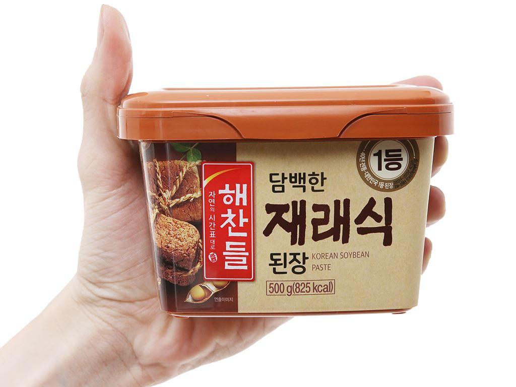 Tương đậu Hàn Quốc vị truyền thống Haechandle hộp 500g 4