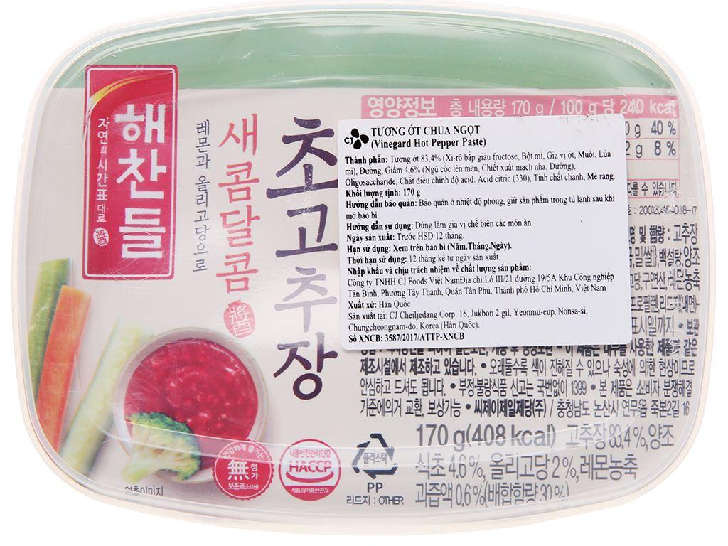 Tương ớt Hàn Quốc Haechandle hộp 170g 3