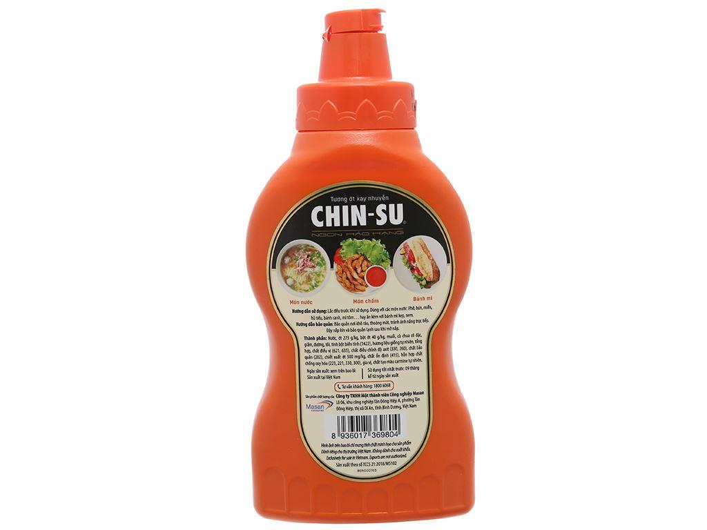 Tương ớt Chinsu siêu cay chai 235g 2