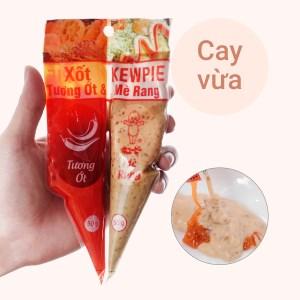 Xốt tương ớt và mè rang Kewpie gói 100g