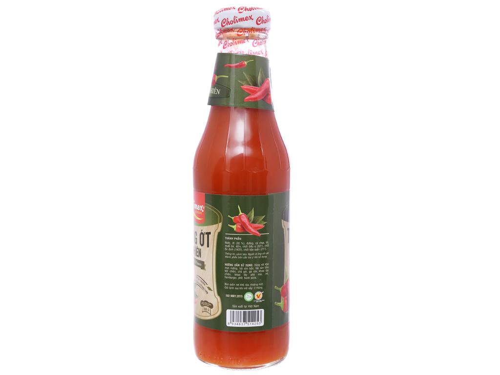Tương ớt tự nhiên Cholimex chai 300g 2