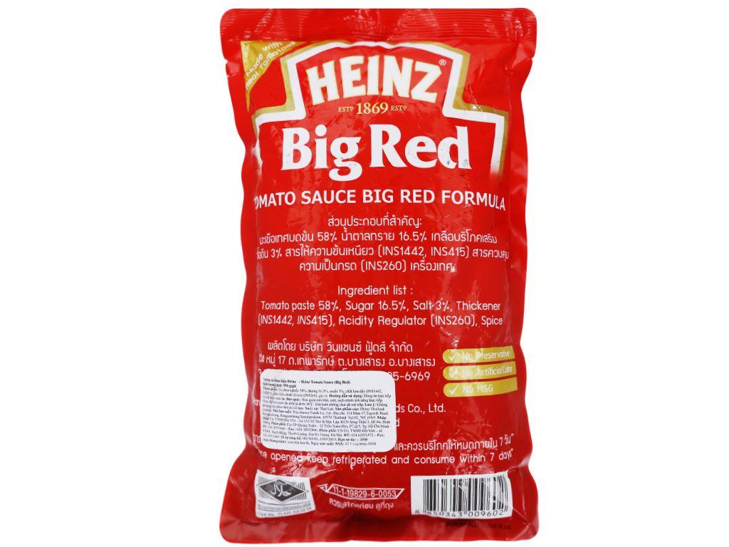 Tương cà Heinz Big Red gói 950g 3
