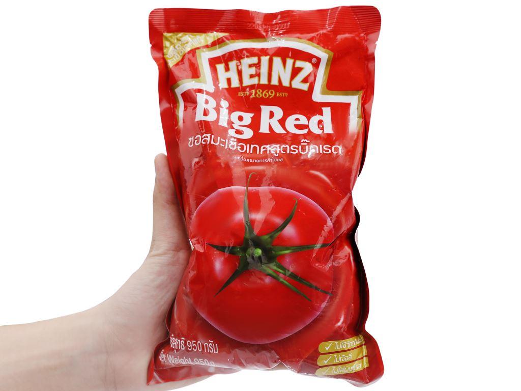 Tương cà Heinz Big Red gói 950g 5