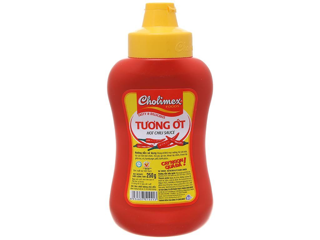 Tương ớt Cholimex chai 250g 3