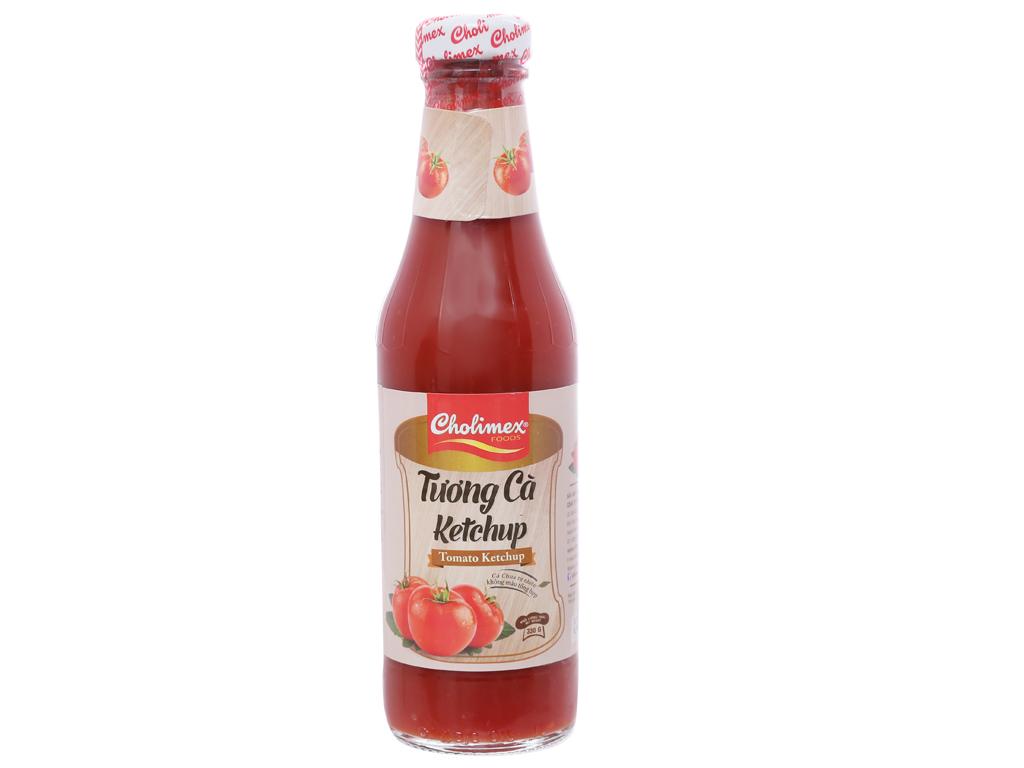 Tương cà Cholimex Ketchup chai 330g 1