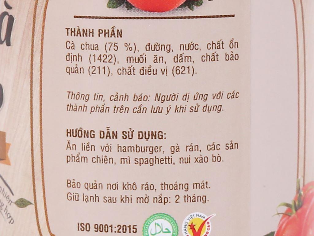 Tương cà Cholimex Ketchup chai 330g 3