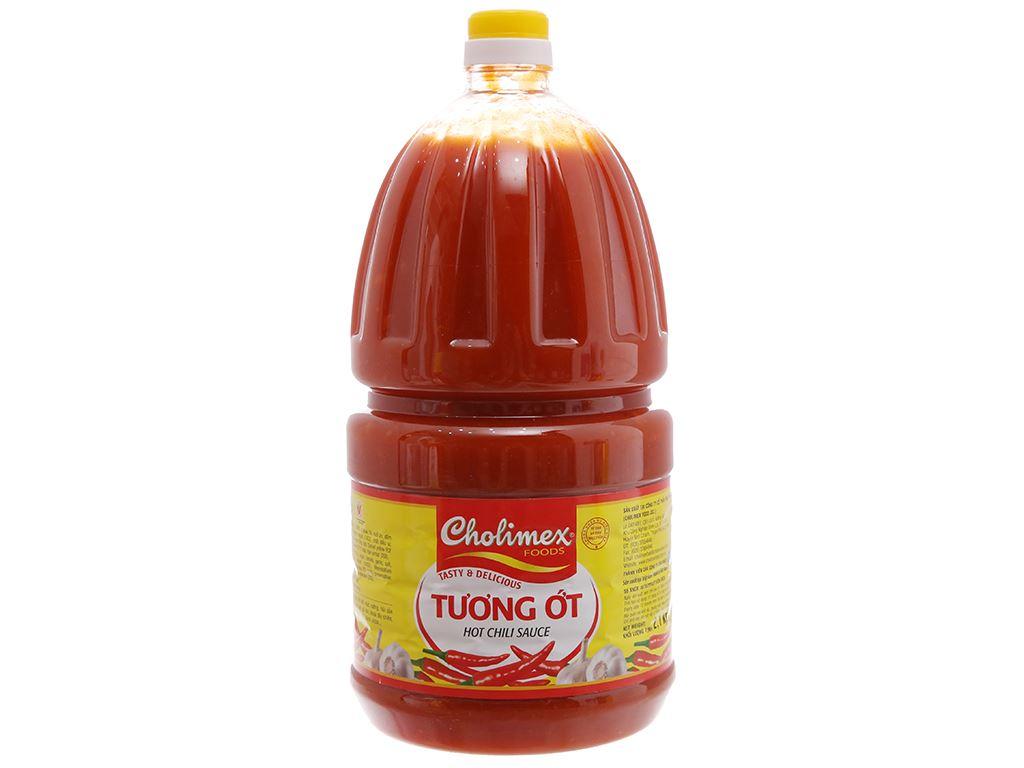 Tương ớt Cholimex chai 2.1kg 2