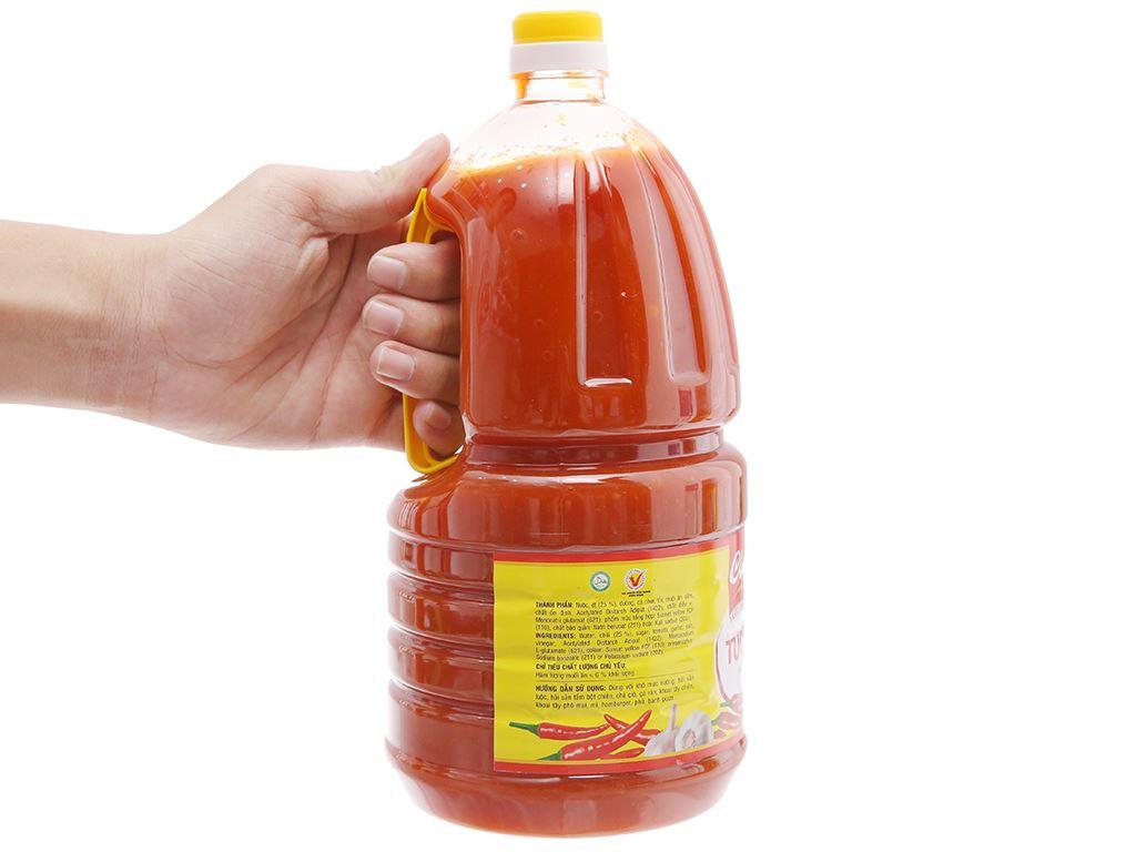Tương ớt Cholimex chai 2.1kg 4
