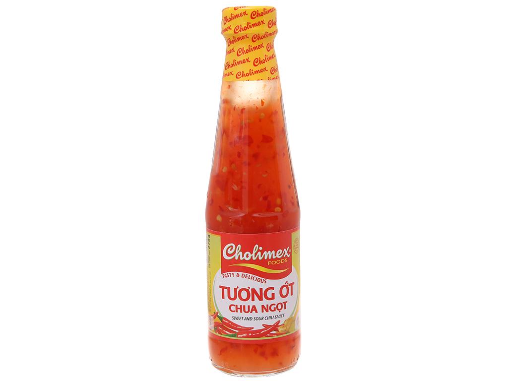 Tương ớt chua ngọt Cholimex chai thủy tinh 270g 2