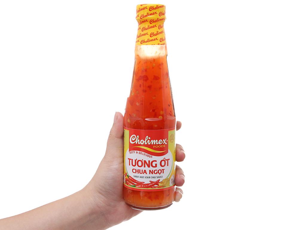 Tương ớt chua ngọt Cholimex chai thủy tinh 270g 4