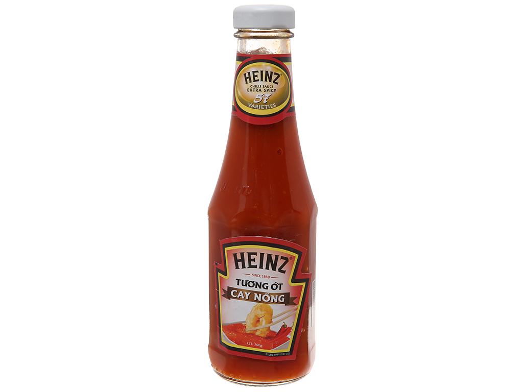 Tương ớt cay nồng Heinz Chilli Sauce Extra Spicy 57 chai 300g 2