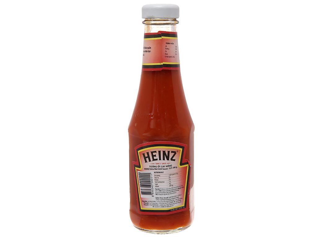 Tương ớt cay nồng Heinz Chilli Sauce Extra Spicy 57 chai 300g 3