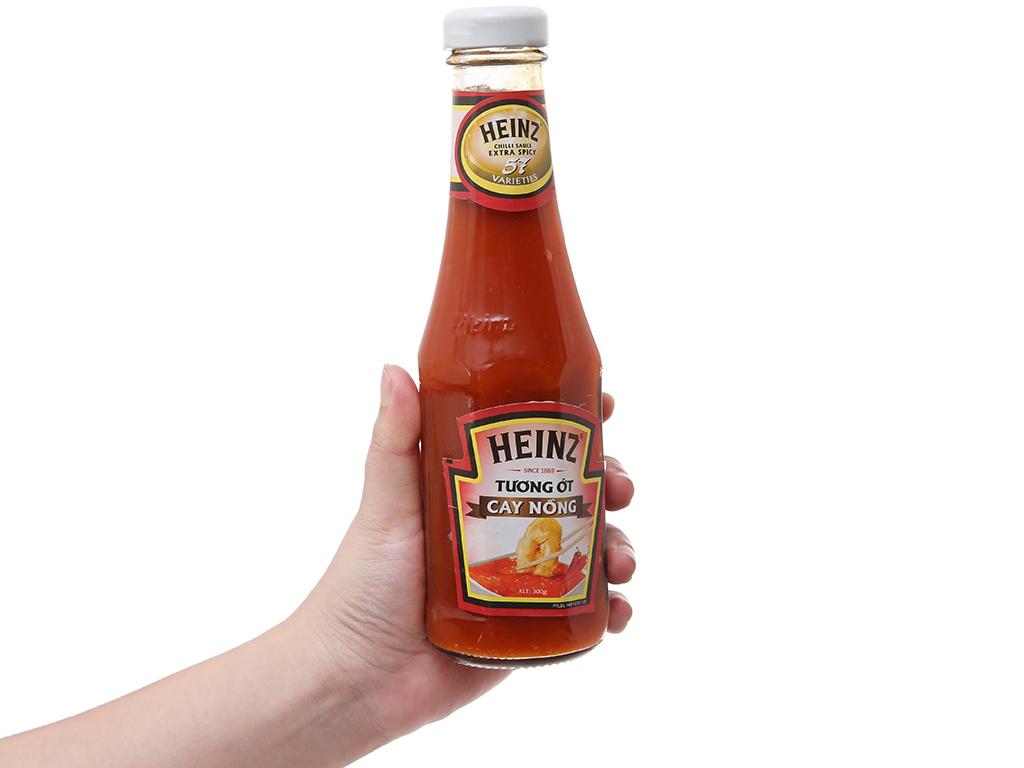 Tương ớt cay nồng Heinz Chilli Sauce Extra Spicy 57 chai 300g 4