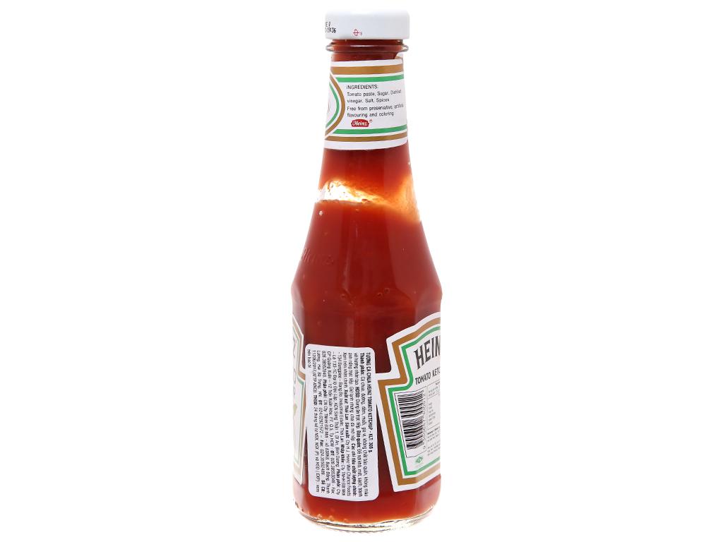 Tương cà Heinz Tomato Ketchup chai thủy tinh 300g 3