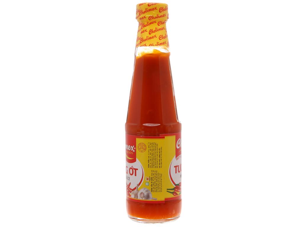 Tương ớt Cholimex chai 270g (chai thủy tinh) 4