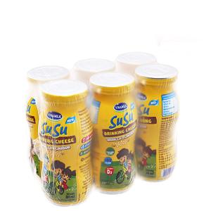 Lốc 6 chai phô mai uống hương vani SuSu 80ml
