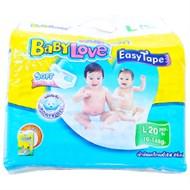 Tã dán Babylove size L 20 miếng (bé 9-13kg)
