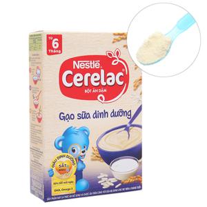 Bột ăn dặm Nestlé Cerelac gạo sữa dinh dưỡng từ 6 tháng 200g