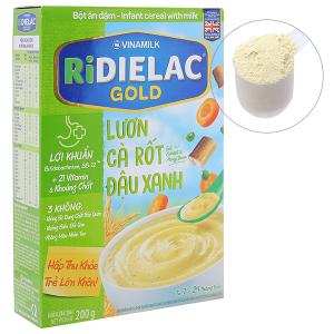 Bột ăn dặm Ridielac Gold lươn cà rốt đậu xanh hộp 200g (7 - 24 tháng)