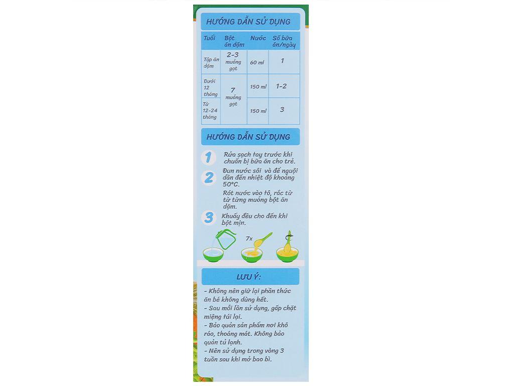 Bột ăn dặm Nutricare MetaCare heo rau ngót bí đỏ & olive hộp 200g (7 - 24 tháng) 5