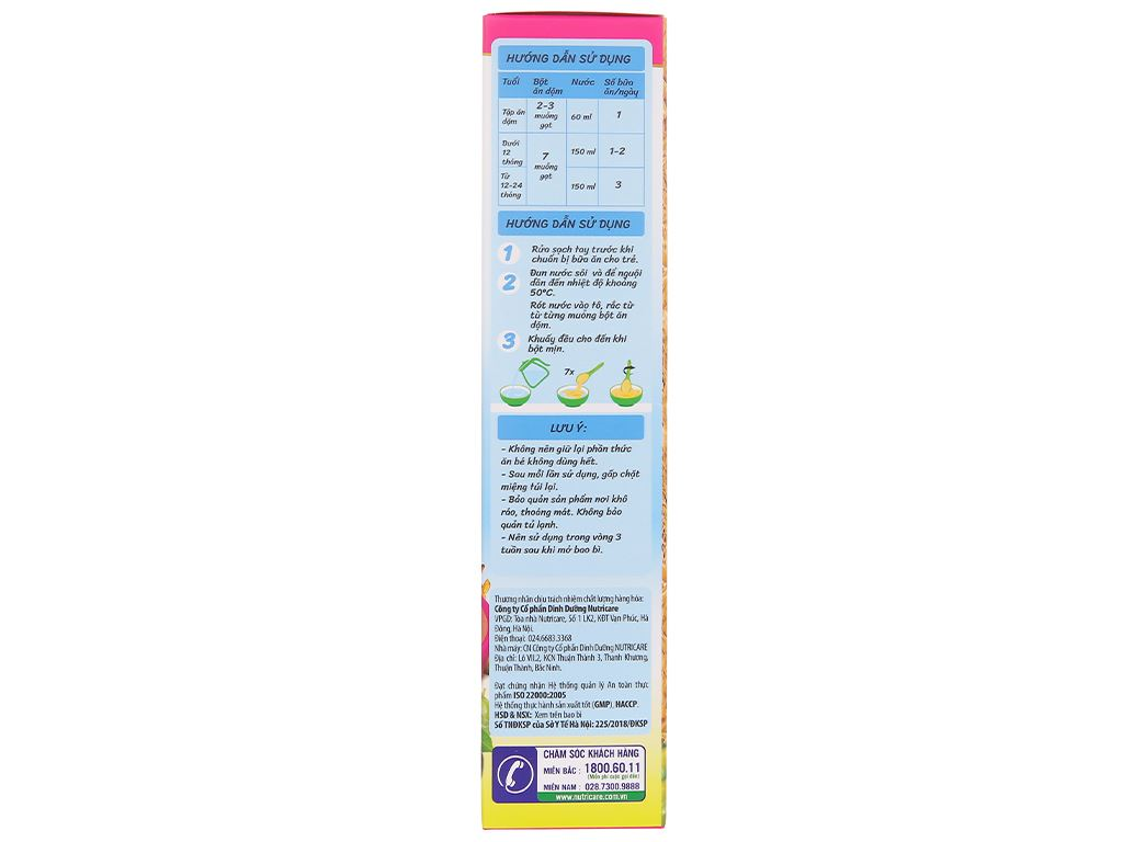 Bột ăn dặm Nutricare MetaCare gạo sữa dinh dưỡng & olive hộp 200g (6 - 24 tháng) 5