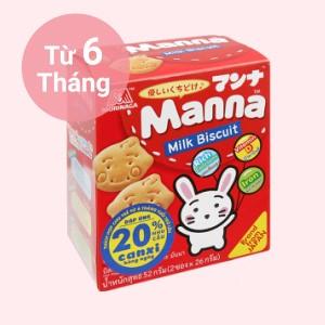 Bánh ăn dặm Manna hộp 52g