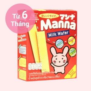 Bánh ăn dặm Manna hộp 35g