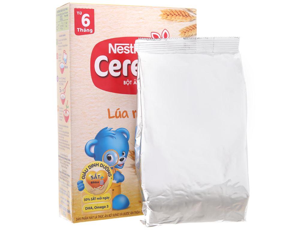 Bột ăn dặm Nestlé Cerelac lúa mì sữa từ 6 tháng 200g 5