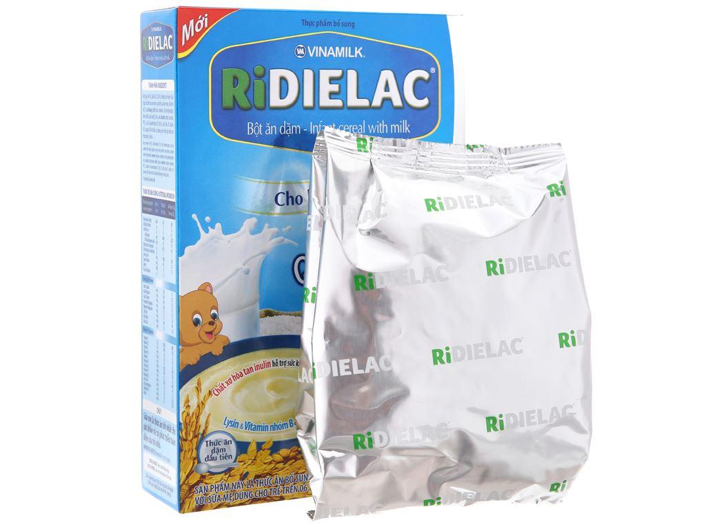Bột ăn dặm Ridielac gạo sữa 6 - 24 tháng 200g 5