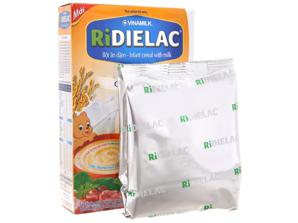 Bột ăn dặm Ridielac heo cà rốt 7 - 24 tháng 200g 5