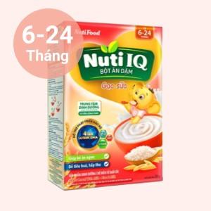 Bột ăn dặm NutiFood Nuti IQ gạo sữa hộp 200g (6 - 24 tháng)