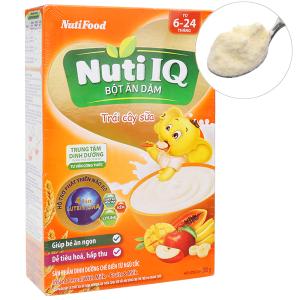 Bột ăn dặm NutiFood Nuti IQ trái cây sữa 6 - 24 tháng 200g