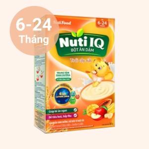 Bột ăn dặm NutiFood Nuti IQ trái cây sữa hộp 200g (6 - 24 tháng)