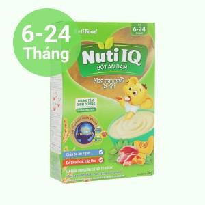 Bột ăn dặm NutiFood heo rau ngót bí đỏ hộp 200g (6 - 24 tháng)