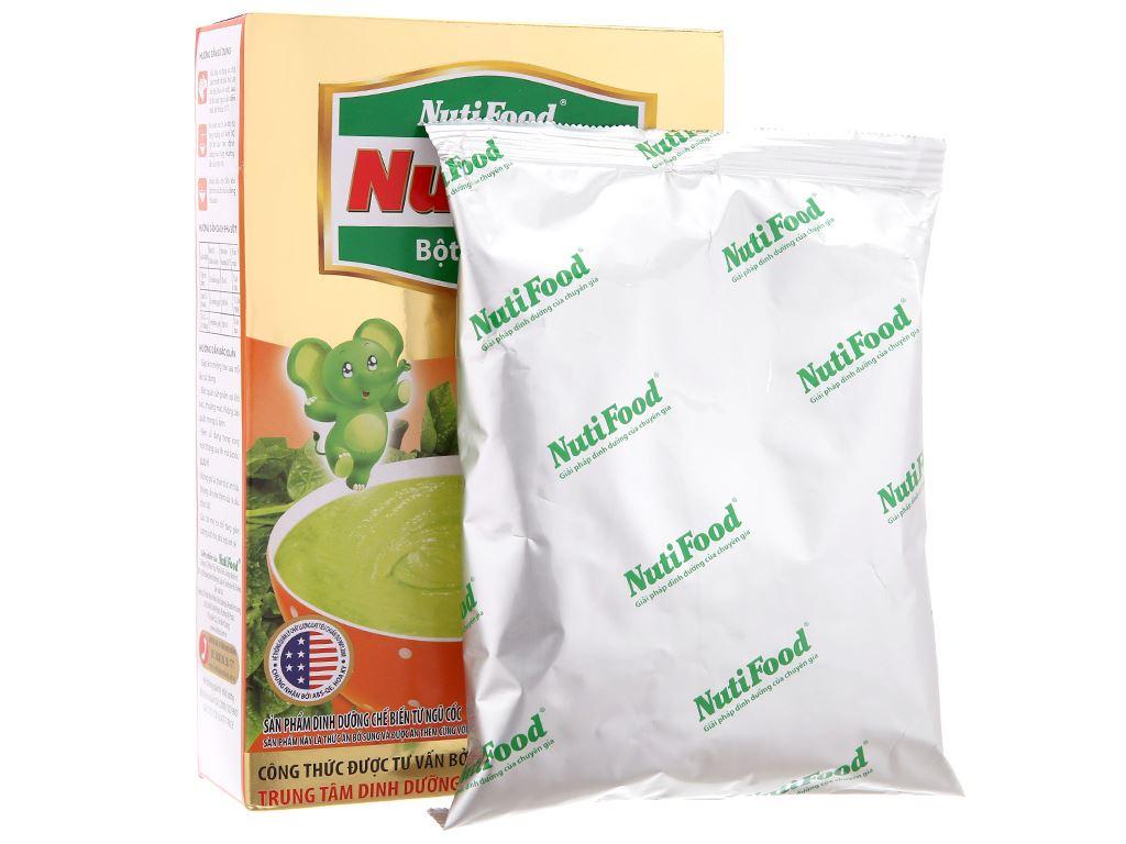 Bột ăn dặm NutiFood Nuti IQ cua mùng tơi 6 - 24 tháng 200g 3