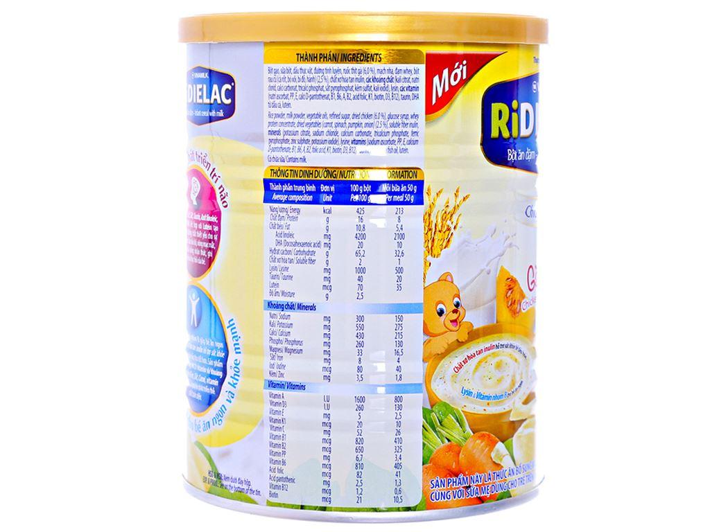 Bột ăn dặm Ridielac gà rau củ 7 - 24 tháng 350g 4