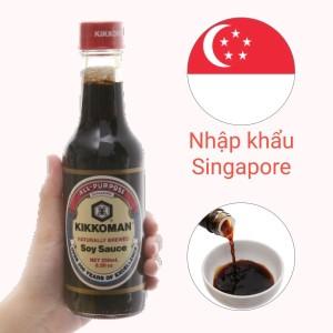 Nước tương hương vị Nhật Bản Kikkoman chai 250ml
