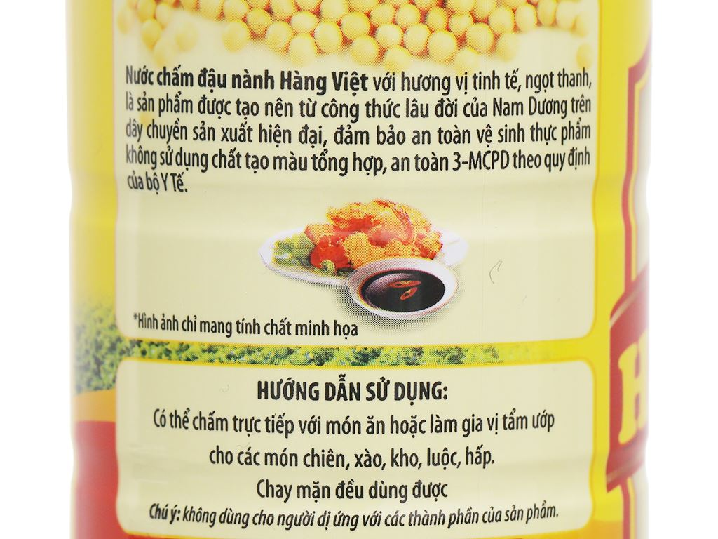 Nước chấm Hàng Việt chai 500ml 3