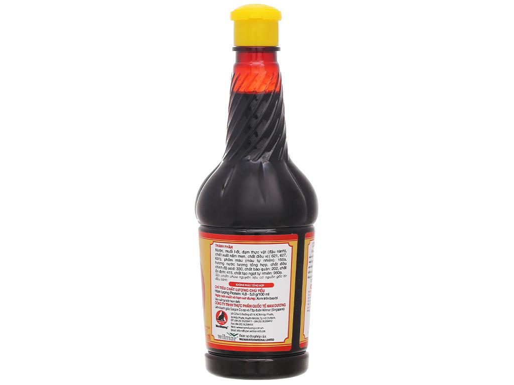 Nước tương thượng hạng Nam Dương chai 210ml 2