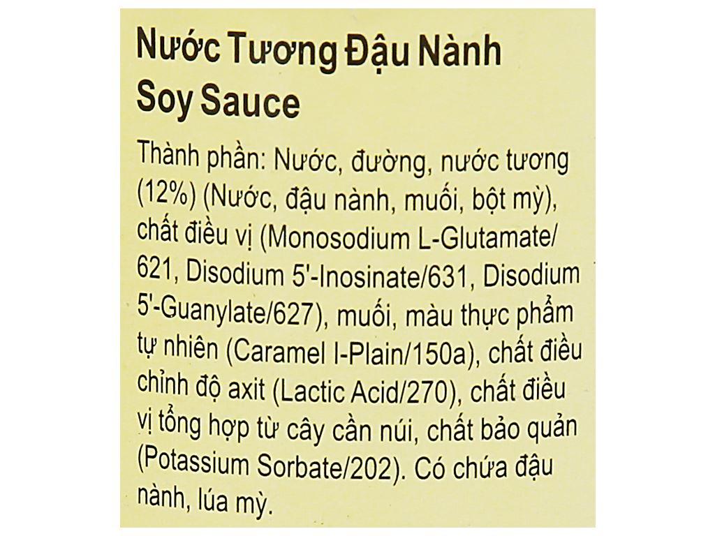 Nước tương đậu nành Lee Kum Kee chai 500ml 9