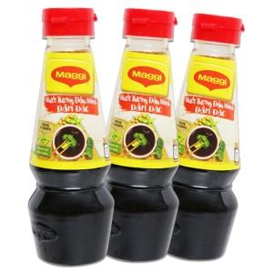 Combo 3 chai nước tương đậu nành đậm đặc Maggi 100ml