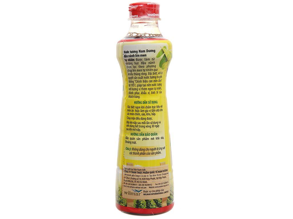 Nước tương đậu nành Nam Dương chai 500ml 3