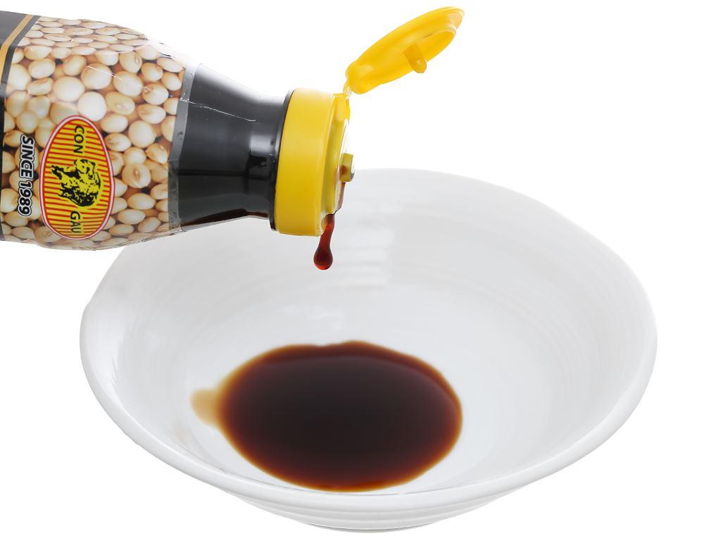 Nước tương đậu nành đậm đặc 3K chai 290ml 7