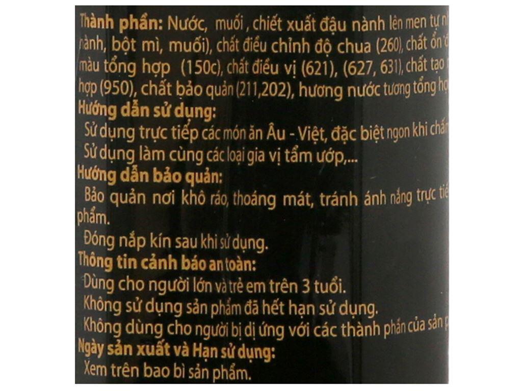 Nước tương đậu nành đậm đặc 3K chai 690ml 5