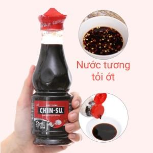 Nước tương tỏi ớt Chinsu chai 250ml