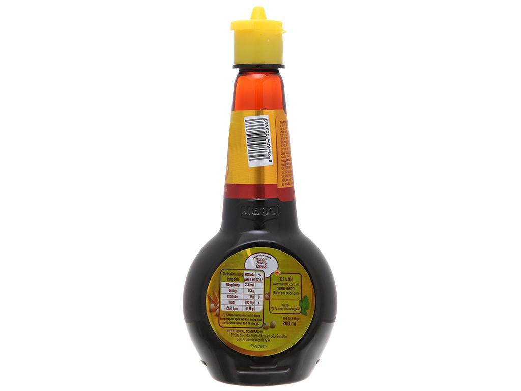 Nước tương hảo hạng Maggi chai 200ml 2