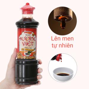 Nước tương đậu nành hảo vị Hương Việt chai 500ml
