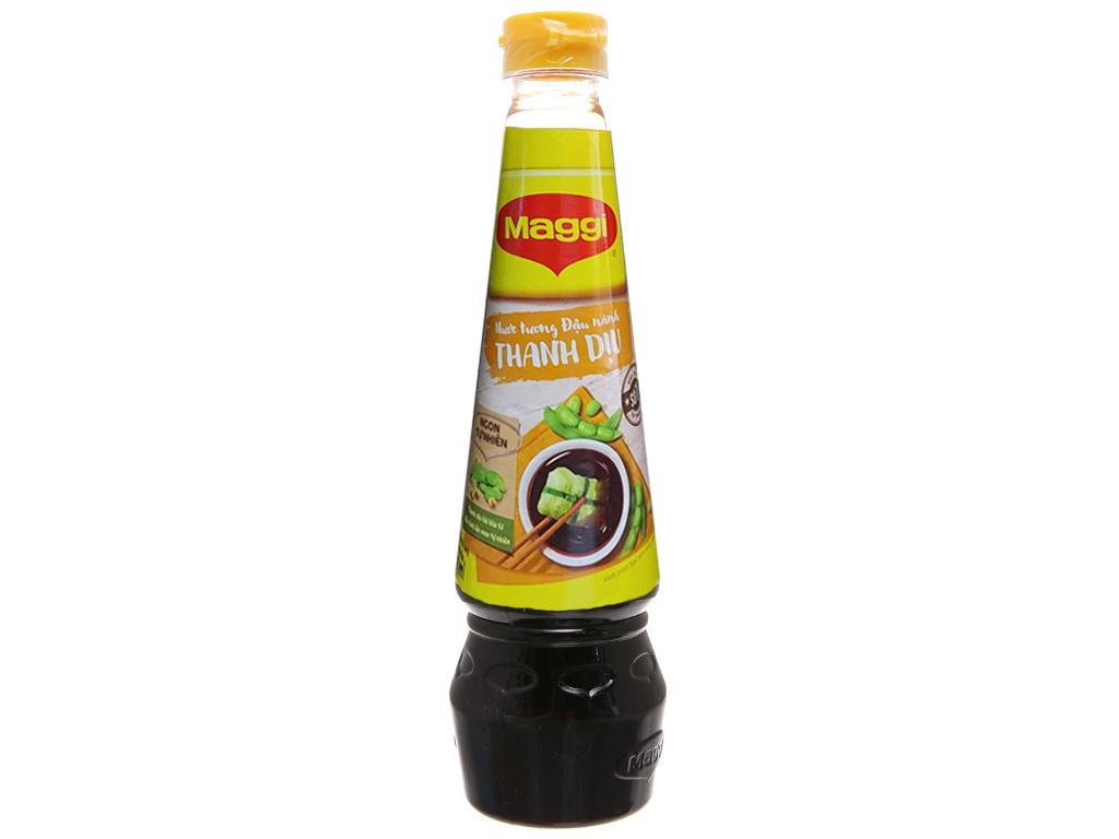 Nước tương đậu nành Maggi chai 300ml 10